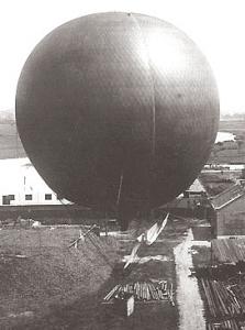 Andrées vätgasballong Svea, år 1894.