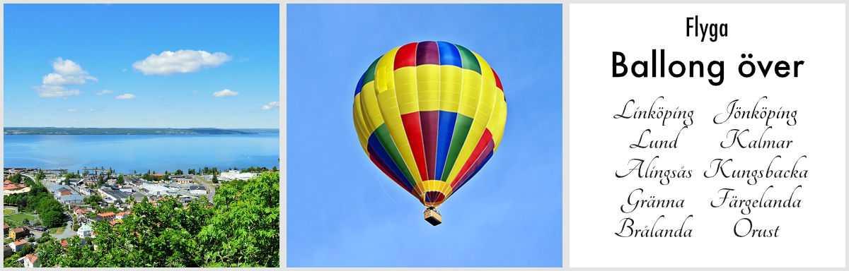 Flyga ballong alla orter