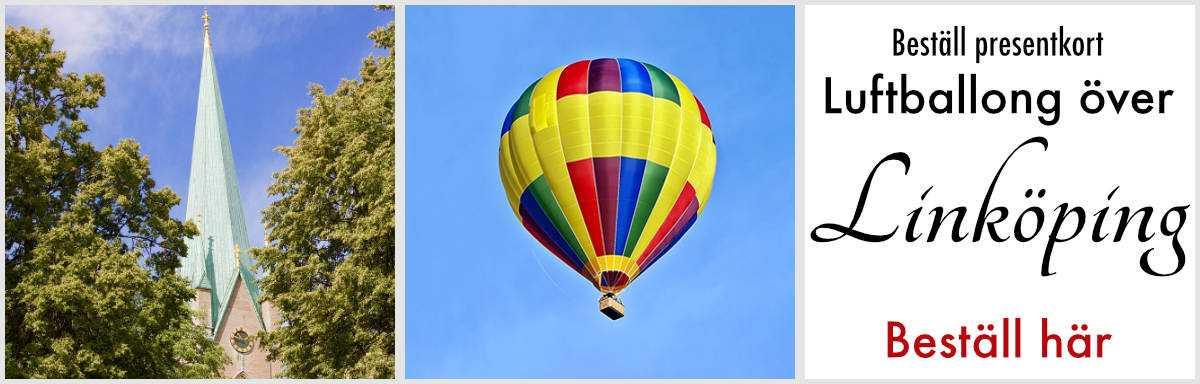 Flyga luftballong linköping